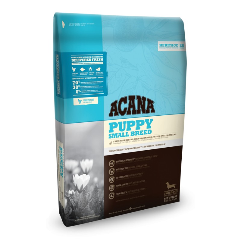 ACANA HERITAGE PUPPY SMALL BREED GF 2kg