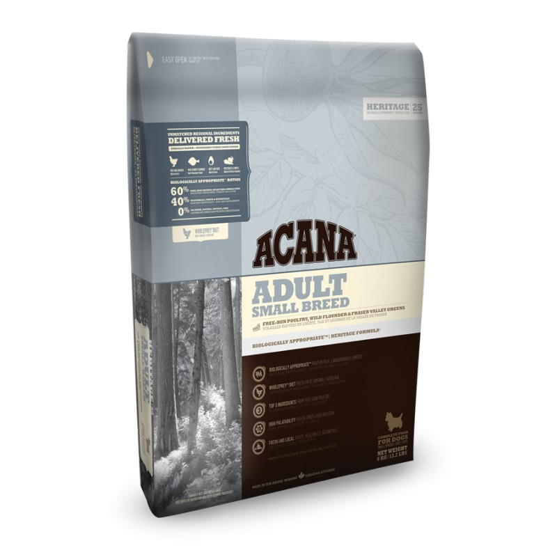 ACANA HERITAGE ADULT SMALL BREED GF 2kg