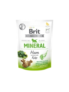 Brit Care Dog Functional Snack Mineral Ham Puppies 150 g