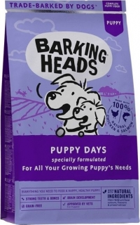 BARKING HEADS GF Puppy Days NEW 1kg